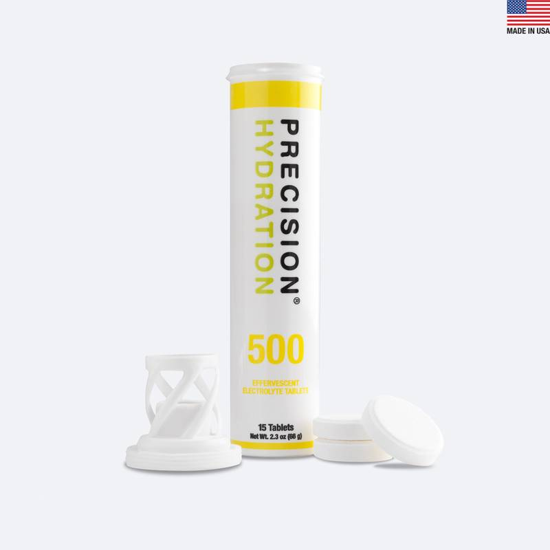 Moderate strength electrolyte tablets for athletes