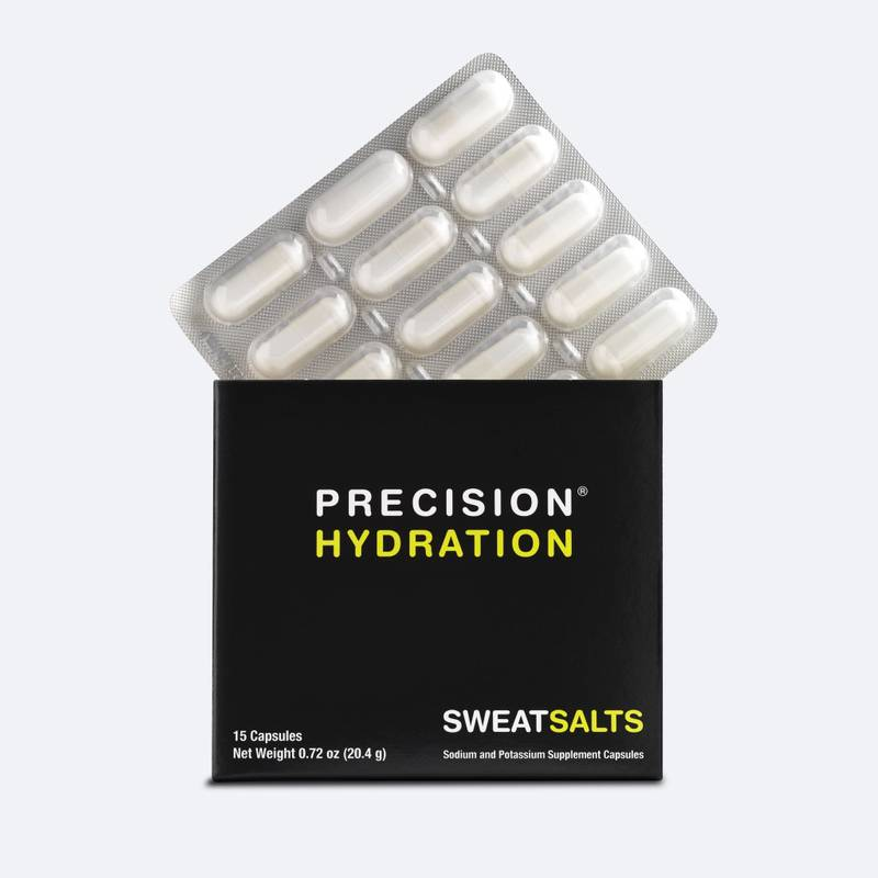 Blister-packed electrolyte capsules - swallowable with water