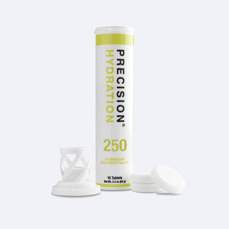 Low strength electrolyte tablets for athletes